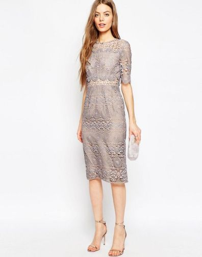 Lace dress plus size ASOS