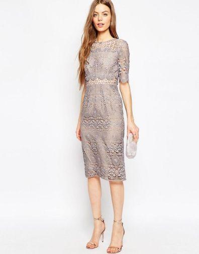 Lace dress plus size ASOS