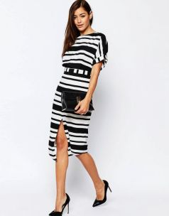 Perfect curvy girl dress from ASOS Split Front